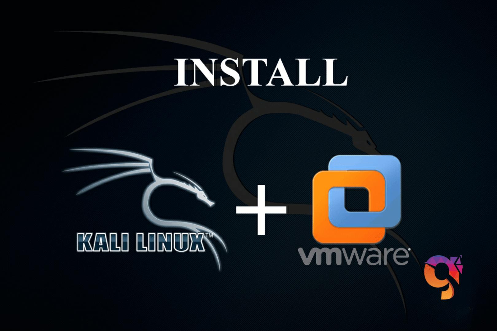 Install kali linux 2020.3 in vm ware
